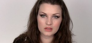 Create a super dramatic romantic date night makeup look