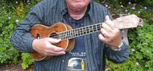 "Play Jerry Jeff Walker's ""Mr Bojangles"" on the ukulele"