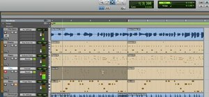 Add effects to your track when using Pro Tools