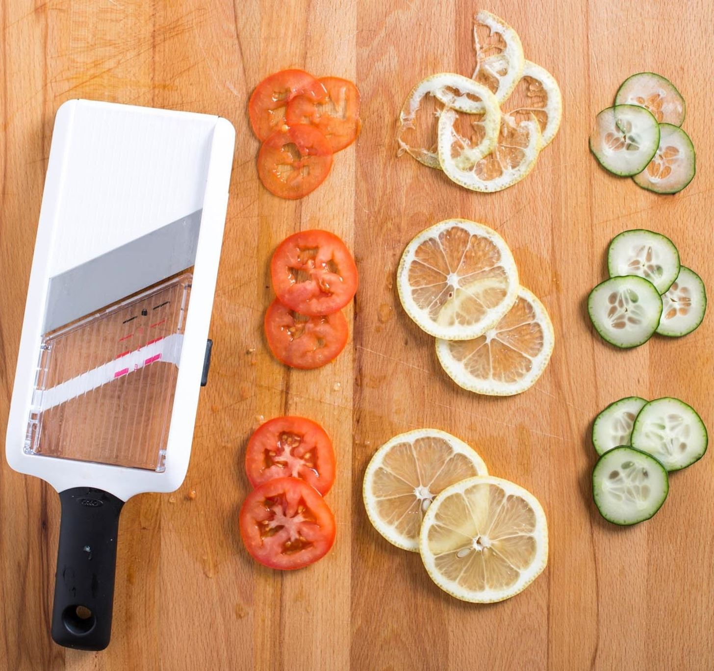 Ditch Your Mandoline for a Handheld Slicer Instead