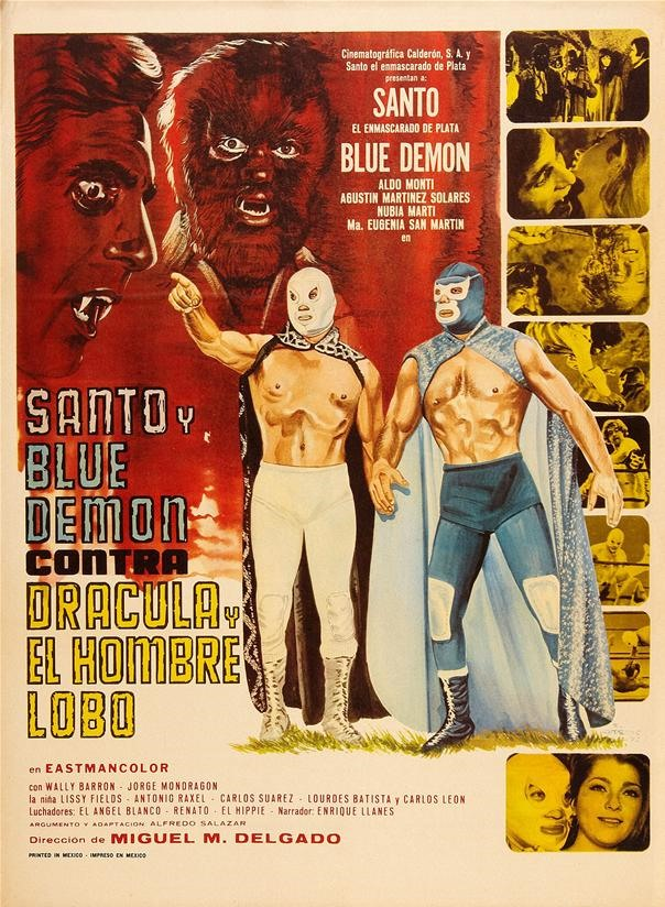 Santo & Blue Demon vs. Dracula and Wolfman