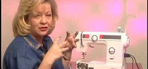 Maintain your sewing machine after it's been in storage or unused for awhile