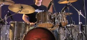 Play double bass drum fills
