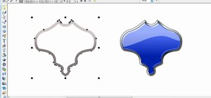 Create a glossy shield in Xara Xtreme