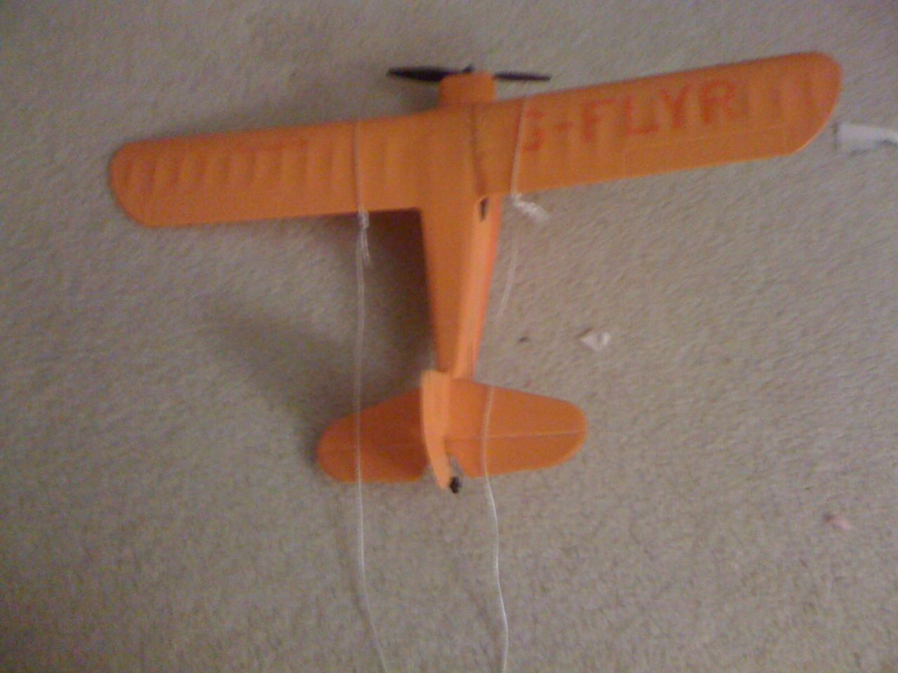 How to Make a Banner for a Lightweight RC Plane
