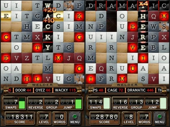 W.E.L.D.E.R. Blends Bejeweled, Boggle and Scrabble into Word-Building Addiction