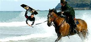 Horsesurfing (Swear, No Photoshop Used!)