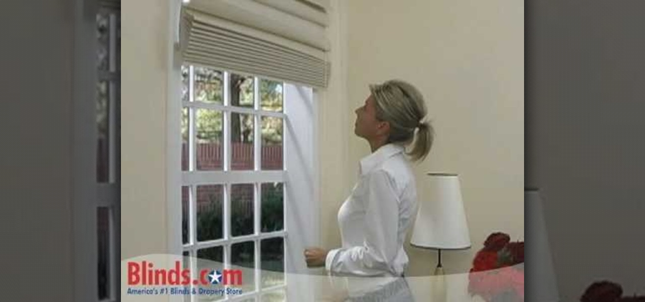 How To Install Outside Mount Roman Shades Interior Design Wonderhowto
