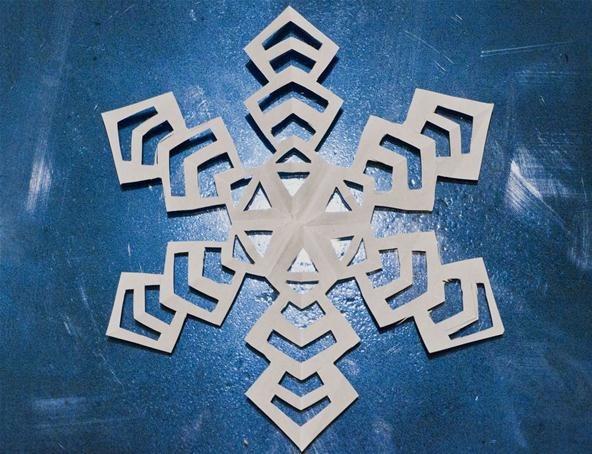 More Kirigami Snowflakes