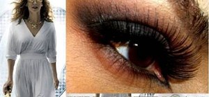 "Create a ""Sex and the City 2"" Arabian eye look"