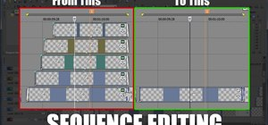 Create sequences from multiple clips in Sony Vegas
