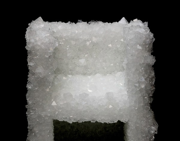 Grow a Chair Out of Crystals