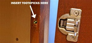 Fix a Stripped Screw with a Toothpick