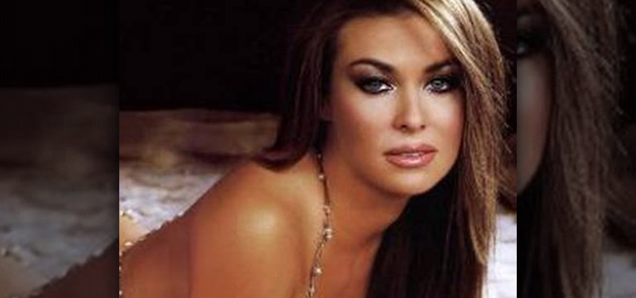 How To Get Carmen Electra Or Playboy Playmate Smoky Eyes Makeup Wonderhowto