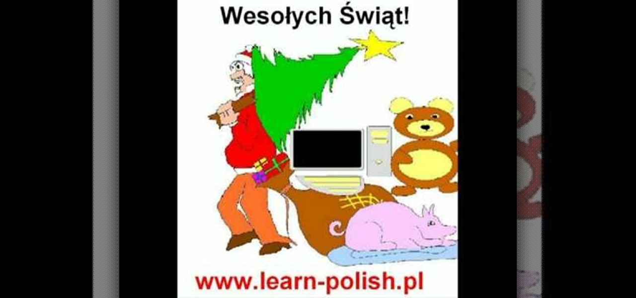 how to say merry christmas in polish polish language culture wonderhowto - How To Say Merry Christmas In Polish