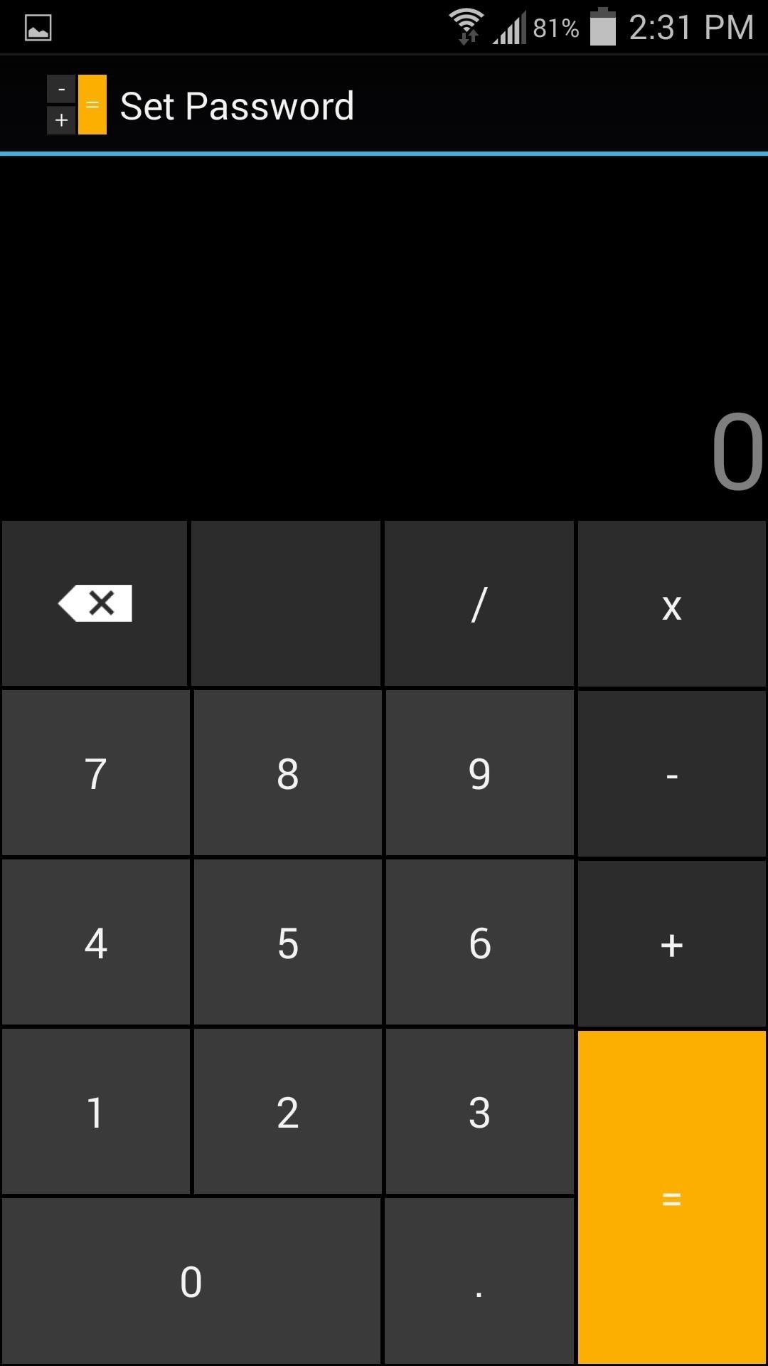 This Innocent Calculator Is Really a Secret App Safe for Android