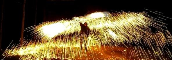 How to Make a Fire Wire (Easy Steel Wool Fireworks)