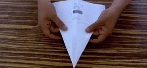 Fold a paper plane in less than 30 seconds