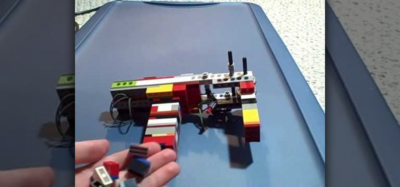 How To Build A Semiautomatic Lego Gun 171 Novelty Wonderhowto