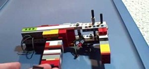 Build a semiautomatic Lego gun