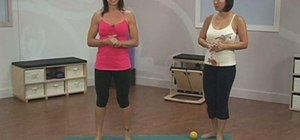 Exercise your feet with a Pilates massage ball routine