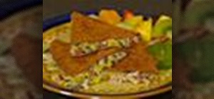 Make cheesy crab and corn quesadillas
