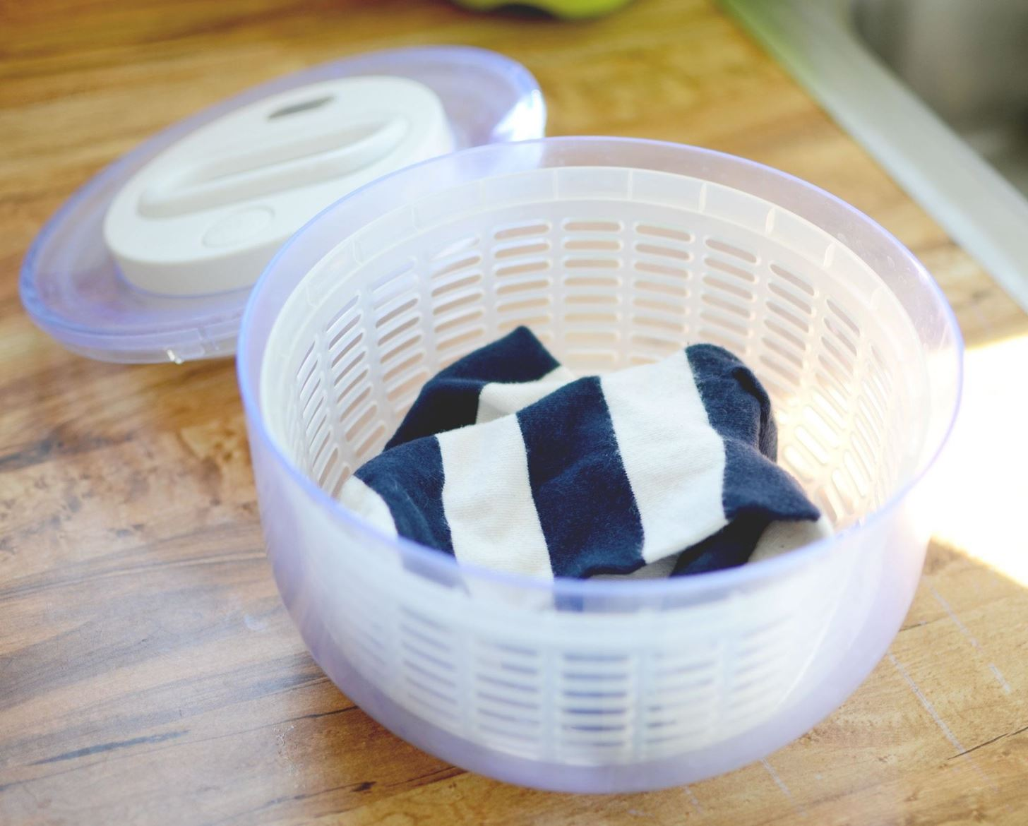 "How to Dry Your Soaking Wet ""Hand Wash Only"" Clothes Faster"