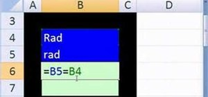 Use the EXACT function in Microsoft Excel