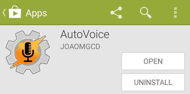 Como fazer o Google Agora Obey personalizado comandos de voz-mesmo sem Root