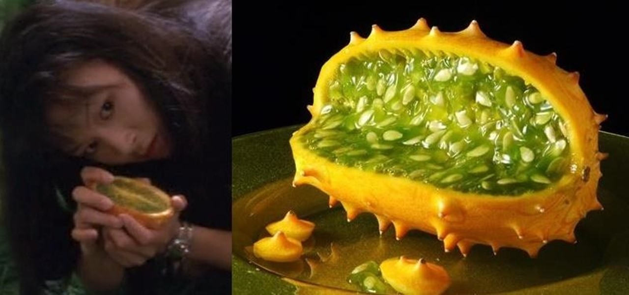 The Alien Melon from Star Trek