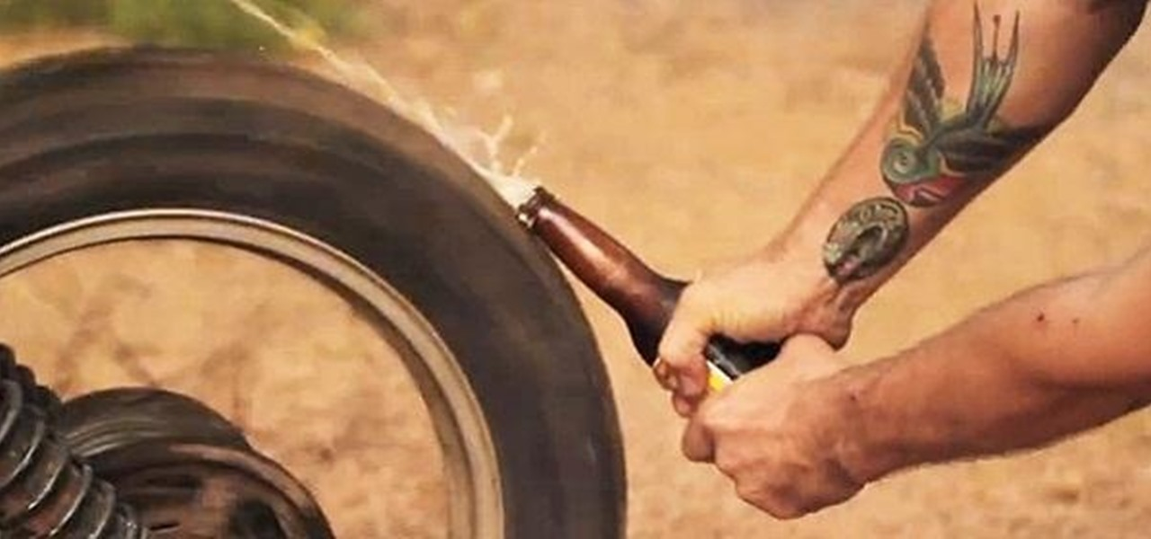 50+ Creative, Useful, and Unnecessarily Dangerous Ways to Open a Beer Bottle