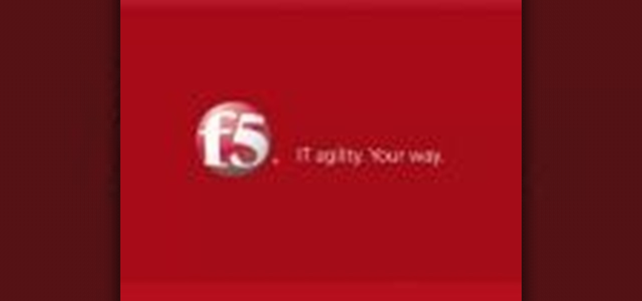 How to Use the F5 Networks' BIG-IP Edge Client « Computer Networking