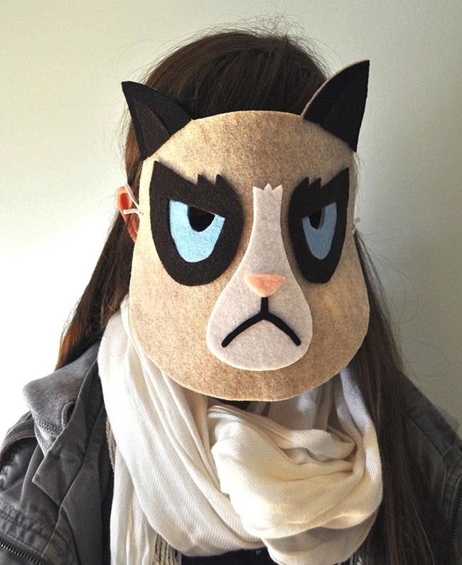These 6 Cheap & Easy DIY Masks Are Perfect for Last-Minute Halloween Costumes