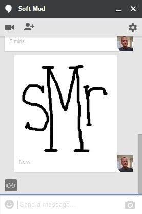 Sketch with Friends Using Google Hangouts on the Web