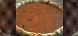 Bake a delicious Southern style sweet potato pie