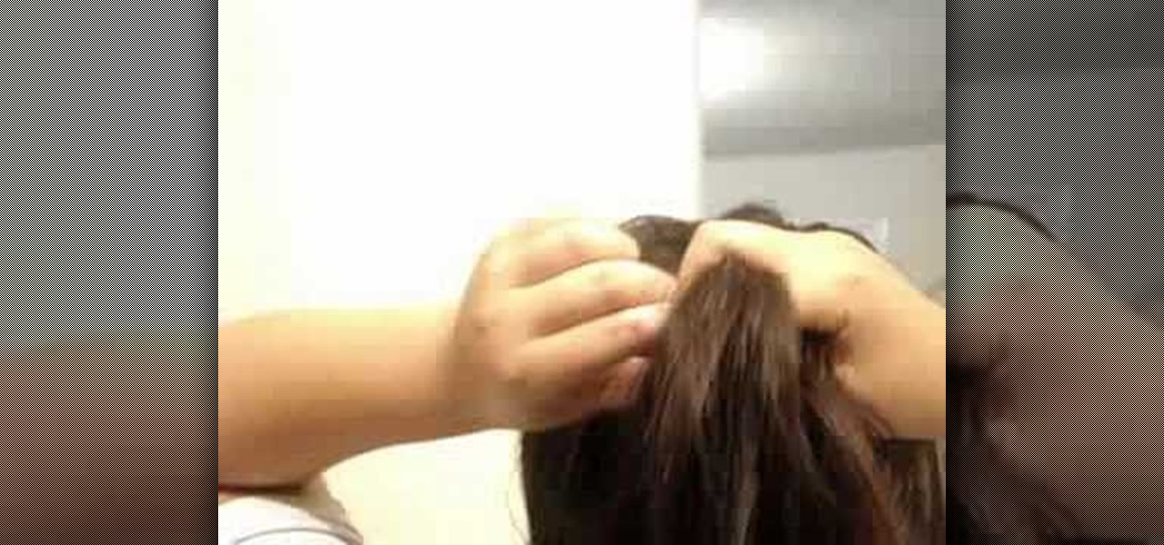 how to french braid own hair - photo #11
