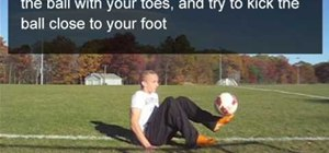 Juggle the ball in freestyle soccer whether standing, sitting, or laying down
