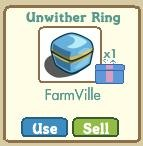 Unwither ring