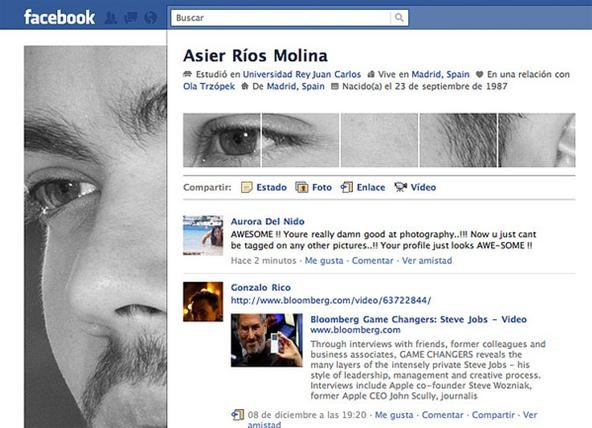 HowTo: Hack the New Facebook Profile Page With Your Face