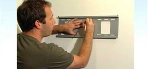 Hang a flat screen television