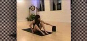 Practice a yoga detox sequence