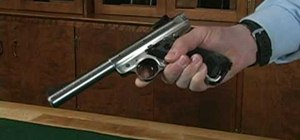 Disassemble your Ruger Mark III Rimfire pistol