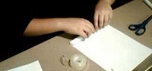 Make a Beretta paper gun