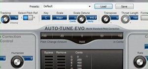 Use the Antares Auto-Tune Evo VST in Audacity 1.3 Beta