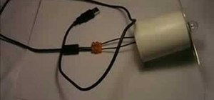 Make a lamp out of a USB cable