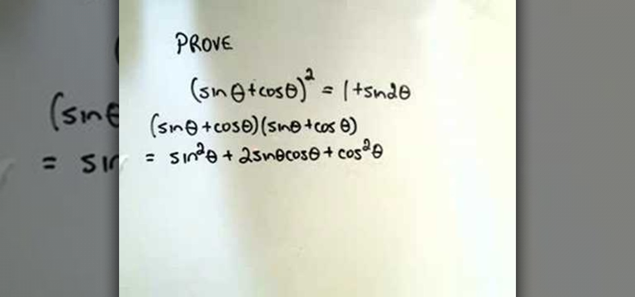 How to Prove some random trigonometric identities « Math ...