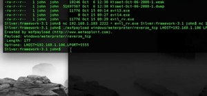 Create a Metasploit Meterpreter executable file