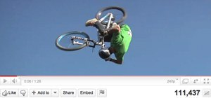 Head over Wheels! The World's First Double Front Flip on a Mountain Bike