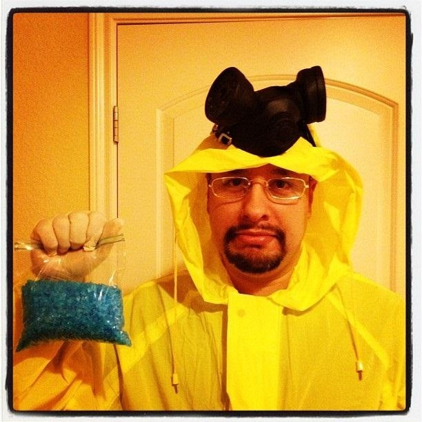 walter white - Halloween Costume Breaking Bad