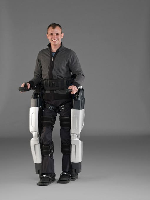 Robo-Exoskeleton Puts Paralyzed Back on Their Feet